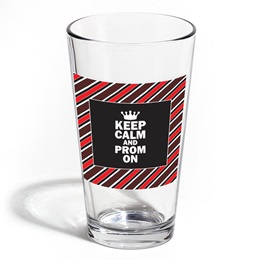 Full-color Leo Tumbler - Diagonal Red Stripes