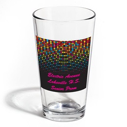 Full-color Leo Tumbler - Rainbow Dots