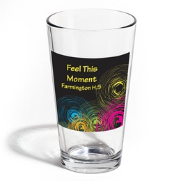Full-color Leo Tumbler - Neon Swirls