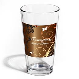 Full-color Leo Tumbler - Butterfly Swirls