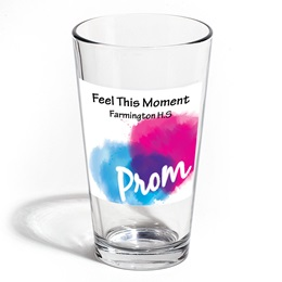 Full-color Leo Tumbler - Pink and Blue Prom