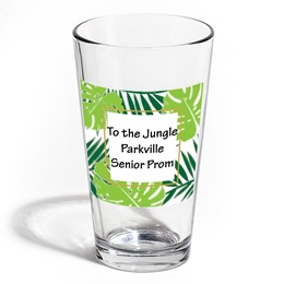 Full-color Leo Tumbler - Palm Leaves