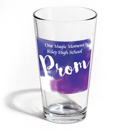 Full-color Leo Tumbler - Purple Clouds PROM
