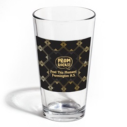 Full-color Leo Tumbler - Gold Dot Art Deco