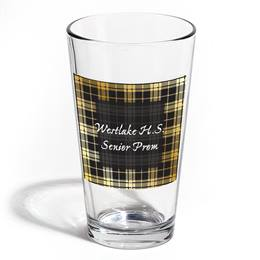 Full-color Leo Tumbler - Silver Houndstooth
