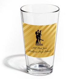 Full-color Leo Tumbler - Gold Stripes