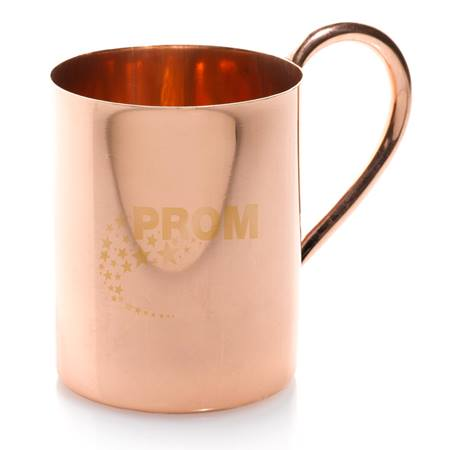 Curved Copper Cup