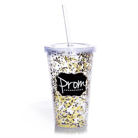 Glitter Prom Tumbler Prom Nite