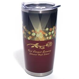 Red Carpet Full-color Stainless Steel Tumbler