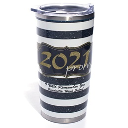 Full-color Stainless Steel Tumbler - Gold Glitter 2021