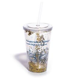 Gold Confetti Luxe Tumbler - Design Your Own