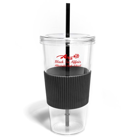 Colored Grip Tumbler
