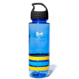 Wristband Water Bottle-Crest Lid