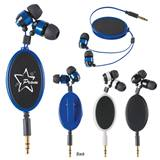 Retractable Metal Ear Buds