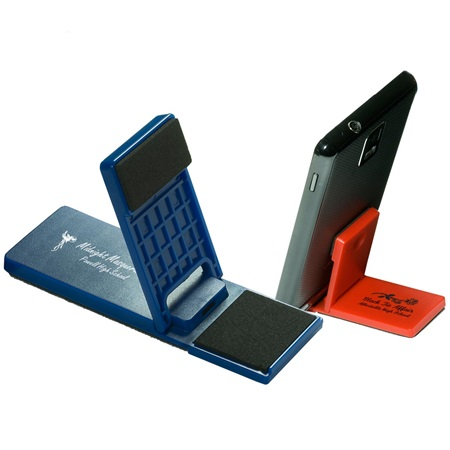 Mobile Device Stand With Cleaner