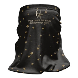 Full-color Wrap Mask - Star Sparkles
