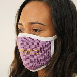 Custom Adjustable 3-Ply Cooling Face Mask