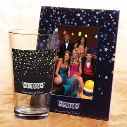 Full-color Tumbler and Frame Favor Set - Star Confetti