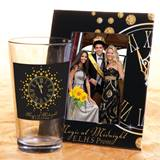 Full-color Tumbler and Frame Favor Set - Gold Clock