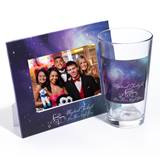 Tumbler and Frame Favor Set - Purple Cosmos