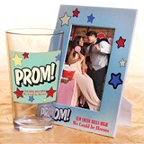 Full-color Tumbler and Frame Favor Set - Prom!/Comic Stars