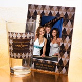 Tumbler and Frame Favor Set - Sparkling Diamonds