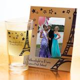Tumbler and Frame Favor Set - Golden Tower