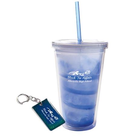 Mood Tumbler and Key Chain Favor Set
