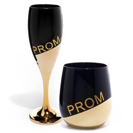 Prom Rising Flute and Tumbler Set