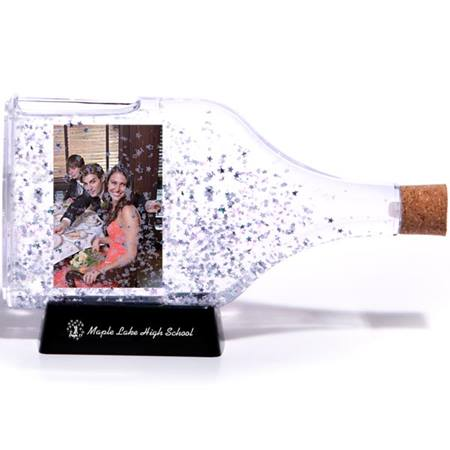 Photo Star Confetti Bottle