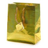 Gold Holographic Favor Bag