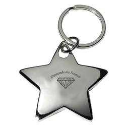 Super Star Metal Key Chain