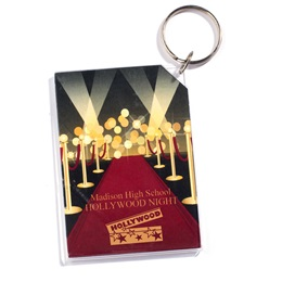 Red Carpet Photo Key Chain