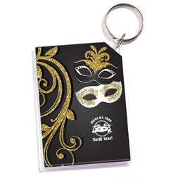 Majestic Masks Photo Key Chain