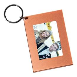 Copper Crush Photo Key Chain