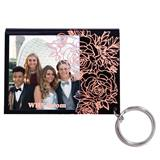 Roses Photo Key Chain