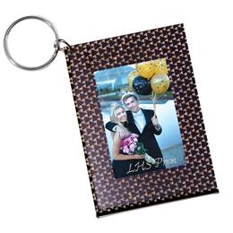 Triangle Deco Photo Key Chain