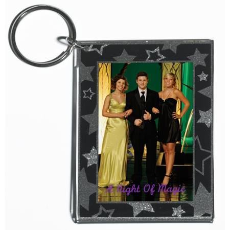 Star Medley Acrylic Key Tag
