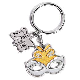 Mask Key Chain With Prom Charm