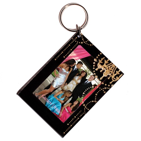 Ballroom Elegance Photo Key Chain
