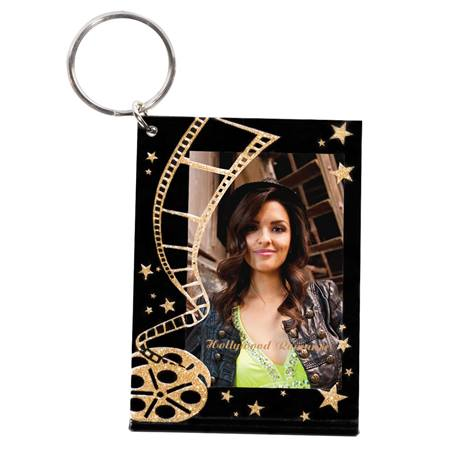 Golden Age Photo Key Chain