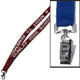 Lanyard with Swivel Snap Bulldog Clip