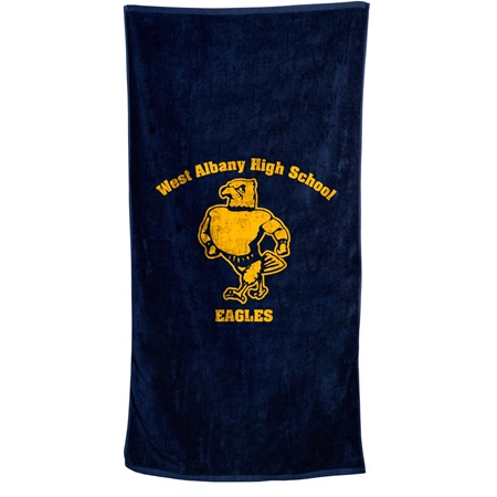 Colored Beach Towel - 30 in.  x 60 in.