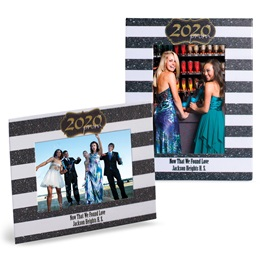 Gold 2020 Prom Crest Full-color Economy Frame