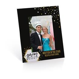 Full-color Economy Frame - Golden Stars Prom 2021