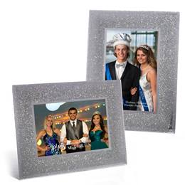 Shocking Silver Glass Frame