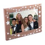 "Star Strings Wood 4"" x 6"" Frame"