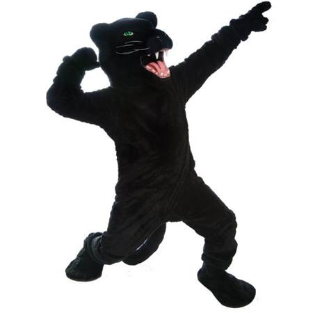 Custom Panther Mascot Costume
