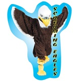 Custom Eagle Mascot Wall Sticker