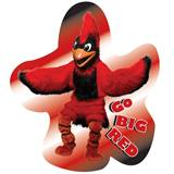 Custom Cardinal Mascot Wall Sticker